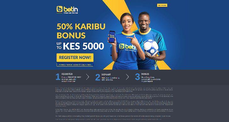 Betin Kenya: Mobile App, Login & Registration Bonus 2019