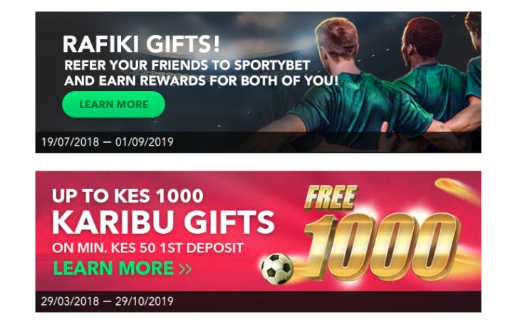 SportyBet Promotions and Bonus Offers